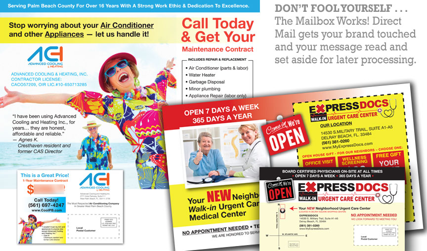 direct mail advertising works now more than ever